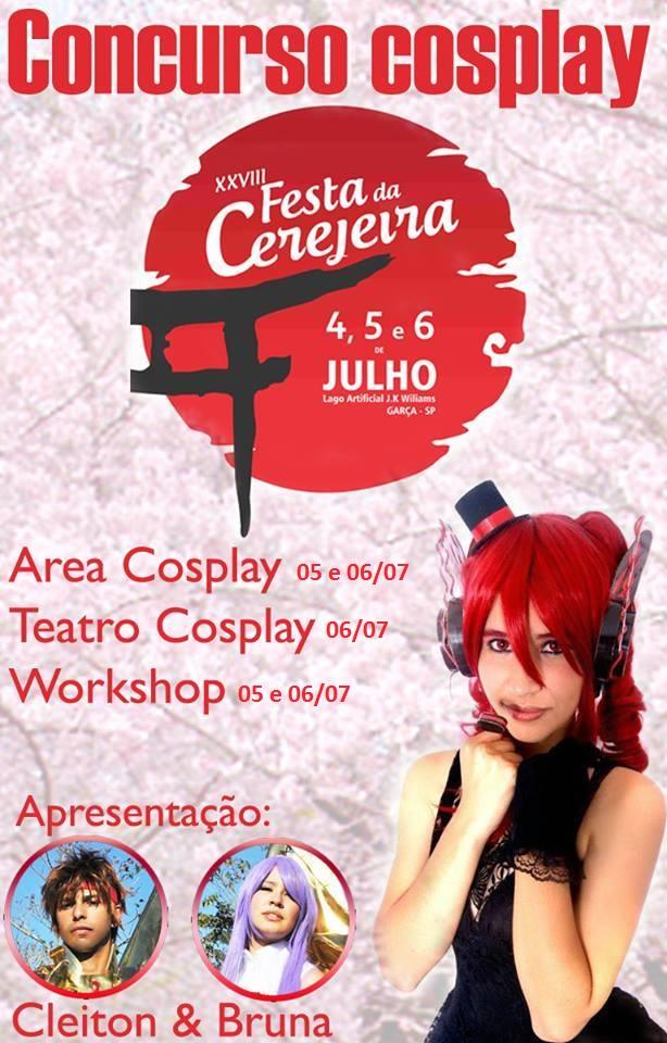 festa cerejeira garca cosplay
